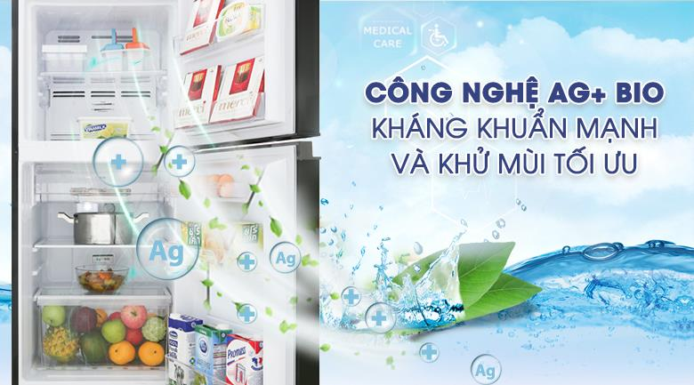 Tủ lạnh Toshiba Inverter 194 lít GR-A25VM (UK) kháng khuẩn khử mùi