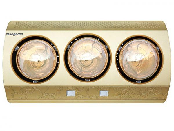 Đèn sưởi 3 bóng Kangaroo KG3BH01 1