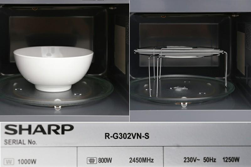 Lò vi sóng Sharp R-G302VN-S 23 lít 4