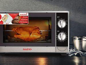 Lò vi sóng có nướng Sato ST-VS01 20 lít 2