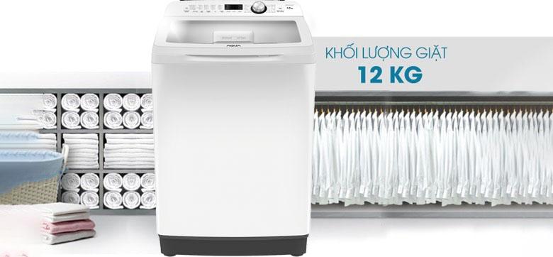 Máy giặt AQUA AQW-FR120CT W 12 kg 2