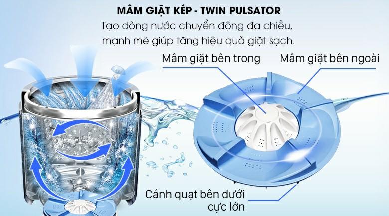 Máy giặt AQUA AQW-FR120CT W 12 kg 3