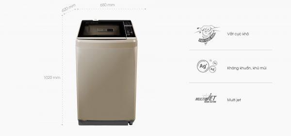 Máy giặt AQUA DR100ET(N) 10 kg 1