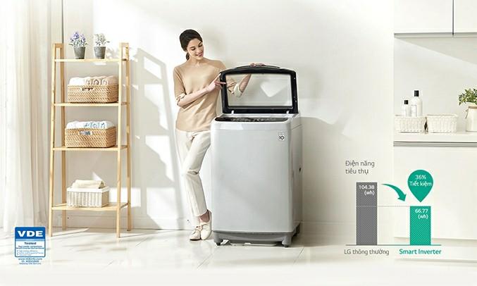Máy giặt LG T2350VS2W Inverter 10.5 kg 1