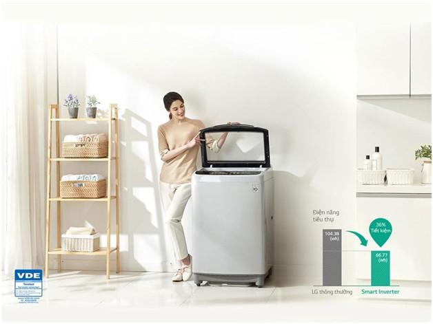 Máy giặt LG T2555VS2M Inverter 15.5 kg 1