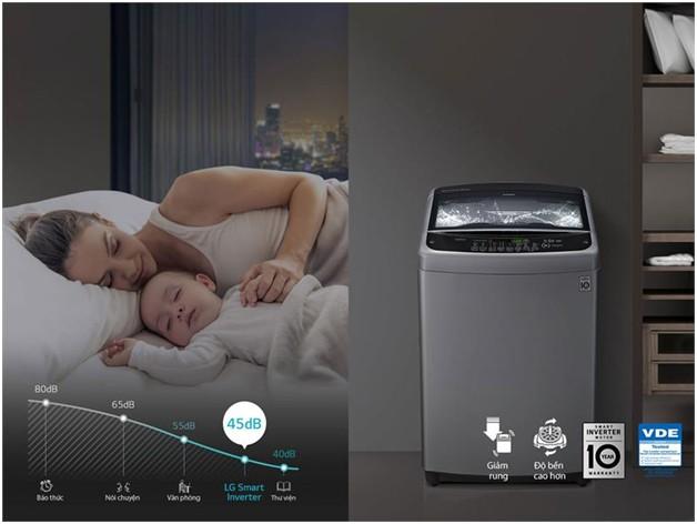 Máy giặt LG T2555VS2M Inverter 15.5 kg 4