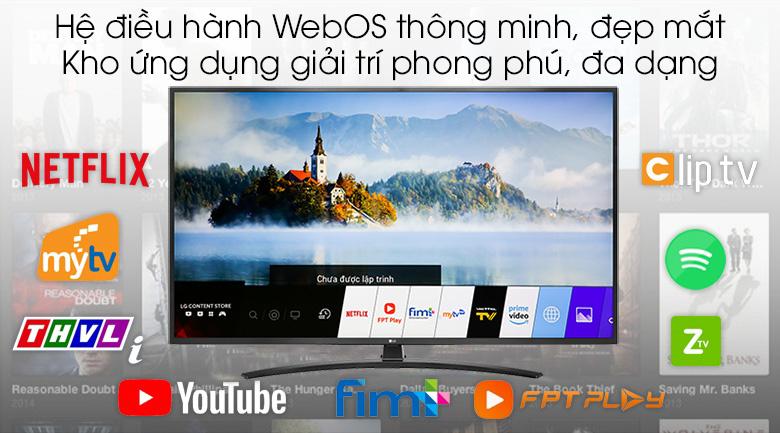 Smart tivi LG 4K 43UM7400PTA 43 inch 7