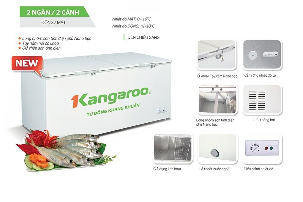 Tủ đông Kangaroo KG566C2 566 lít 1