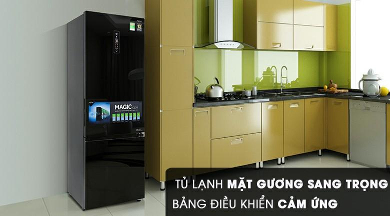 Tủ lạnh AQUA AQR-IG378EB (GB) Inverter 324 lít 1