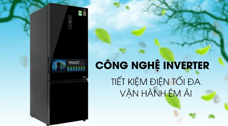 Tủ lạnh AQUA AQR-IG378EB (GB) Inverter 324 lít 3
