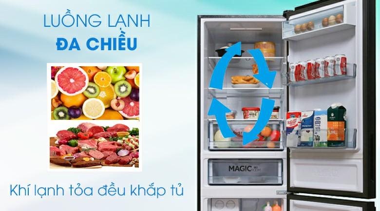 Tủ lạnh AQUA AQR-IG378EB (GB) Inverter 324 lít 4