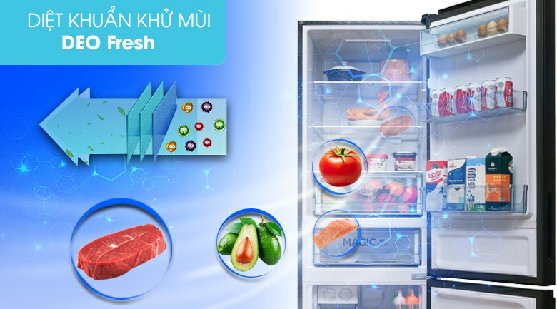 Tủ lạnh AQUA AQR-IG378EB (GB) Inverter 324 lít 5