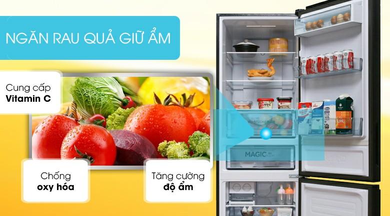 Tủ lạnh AQUA AQR-IG378EB (GB) Inverter 324 lít 7