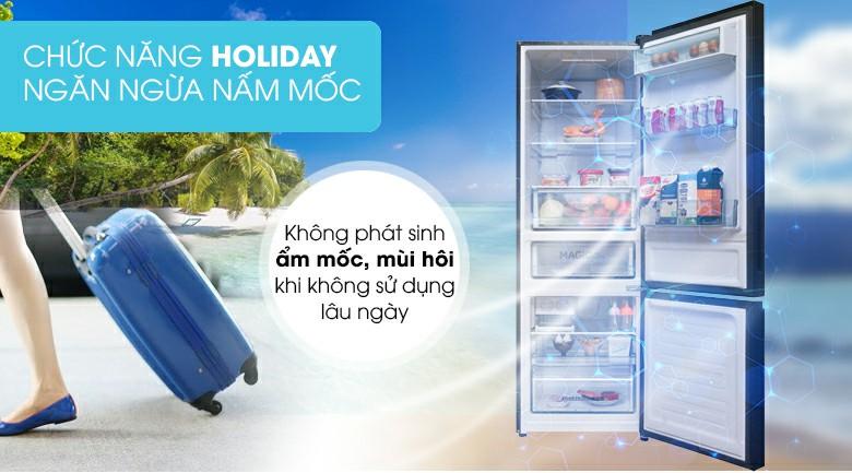Tủ lạnh AQUA AQR-IG378EB (GB) Inverter 324 lít 8