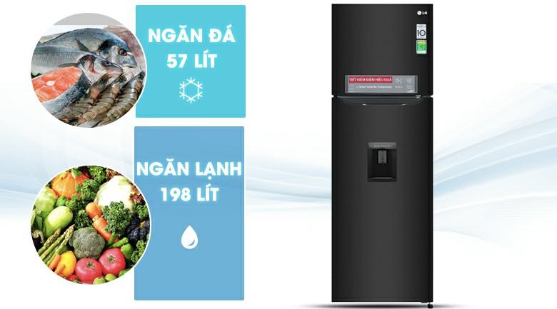 Tủ lạnh LG GN-D255BL Inverter 255 lít 3