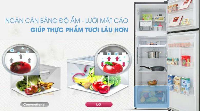 Tủ lạnh LG GN-M255BL Inverter 255 lít 7