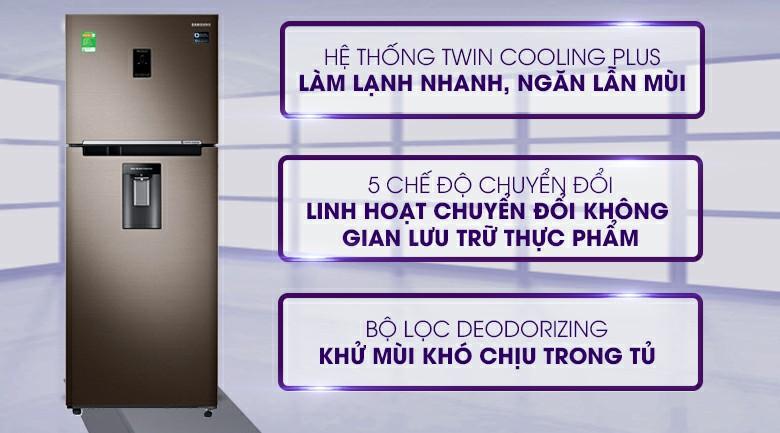 Tủ lạnh Samsung Twin Cooling Plus 394 lít cũng nằm top tủ lạnh Tết 2020
