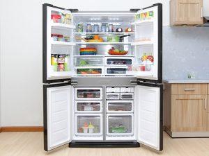 Tủ lạnh Sharp SJ-FX630V-ST 556 lít