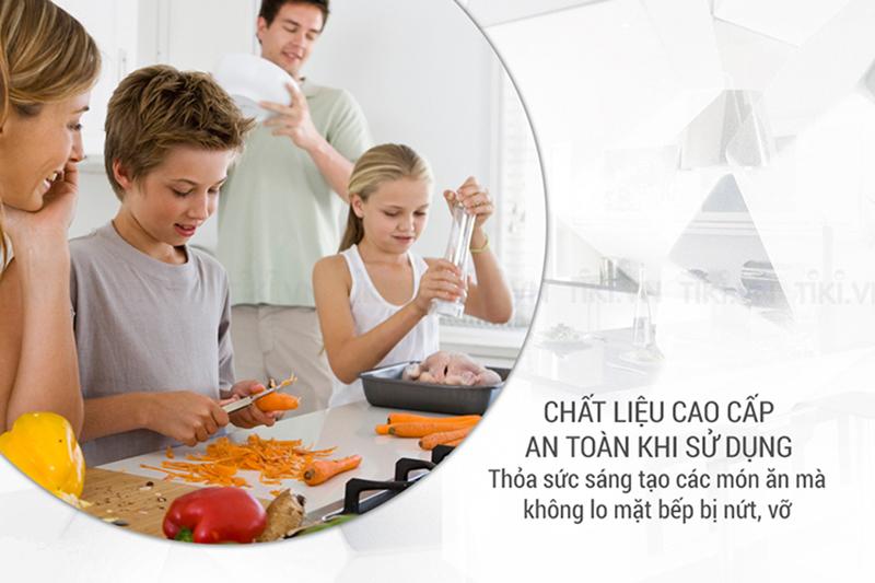 Bếp từ Sowun SW 1215 Chất liệu cao cấp, an toàn khi sử dụng