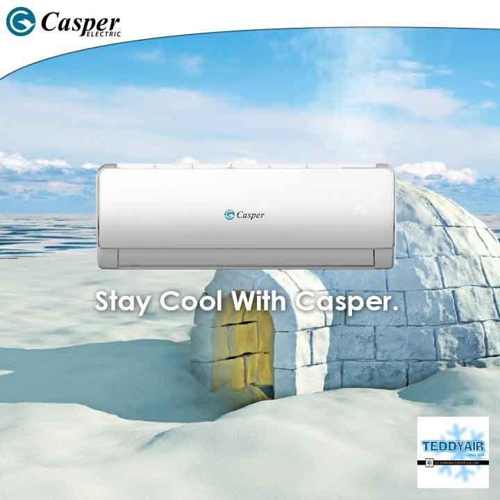 Điều hòa Casper GC-09TL22 Inverter 1 chiều 9000btu 12