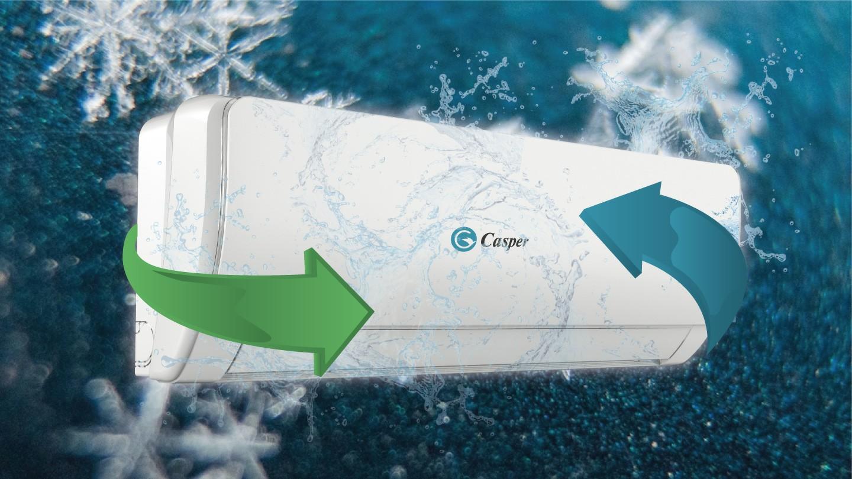Điều hòa Casper GC-09TL22 Inverter 1 chiều 9000btu 4