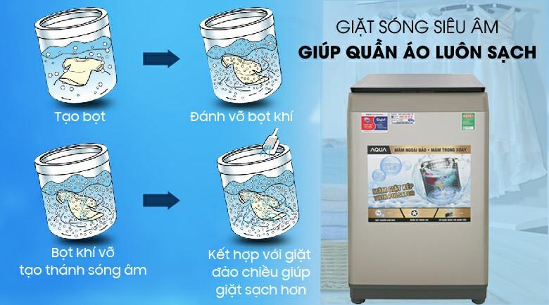 Máy giặt AQUA W90CT N 9 kg 3