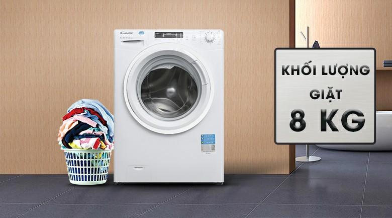 Máy giặt Candy HCS 1282D3Q 8kg 2