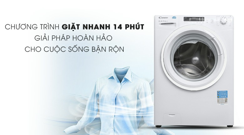 Máy giặt Candy HCS 1282D3Q 8kg 6