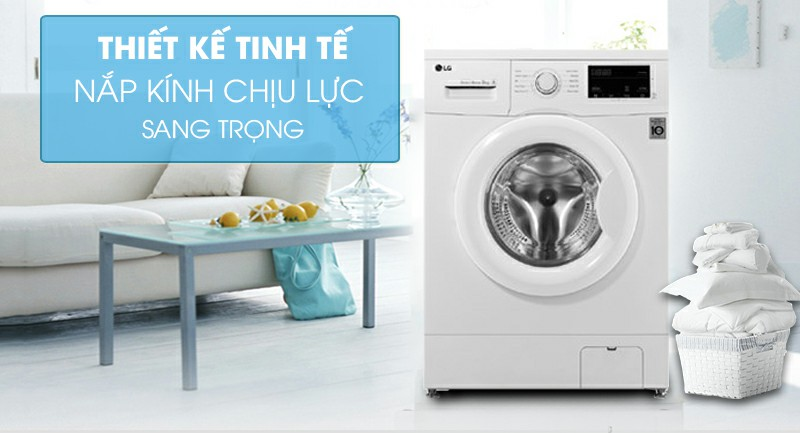 Máy giặt LG FM1208N6W Inverter 8kg 1