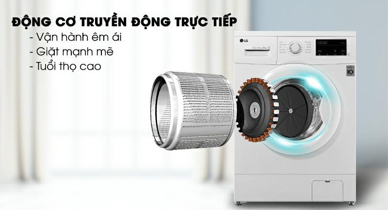 Máy giặt LG FM1208N6W Inverter 8kg 2