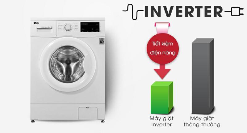 Máy giặt LG FM1208N6W Inverter 8kg 4