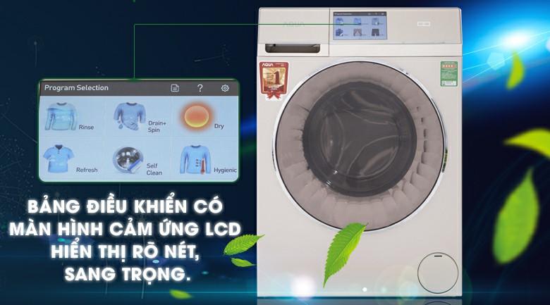 Máy giặt sấy AQUA AQD-D1000HT Inverter 10kg 1