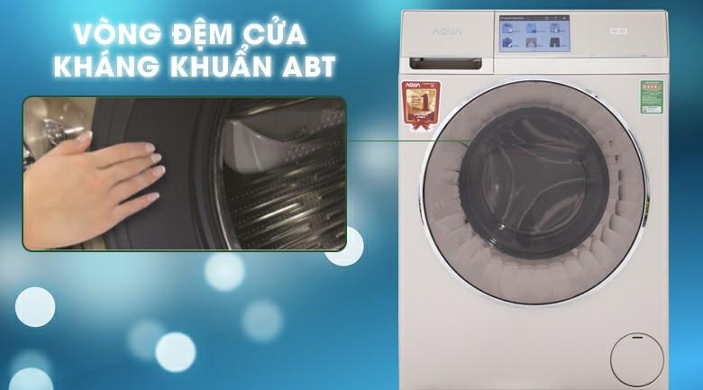 Máy giặt sấy AQUA AQD-D1000HT Inverter 10kg 8