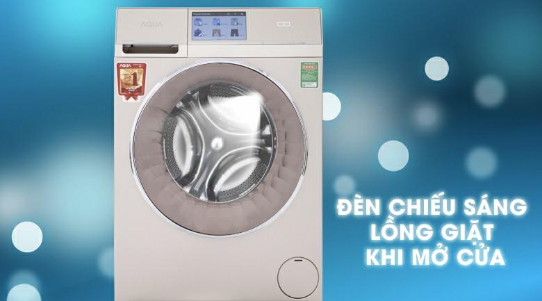 Máy giặt sấy AQUA AQD-D1000HT Inverter 10kg 9