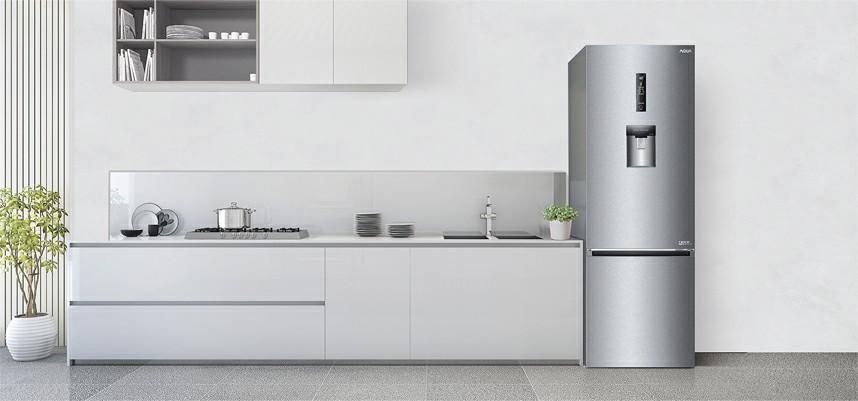 Tủ lạnh AQUA AQR-IW338EB SW Inverter 317 lít 1