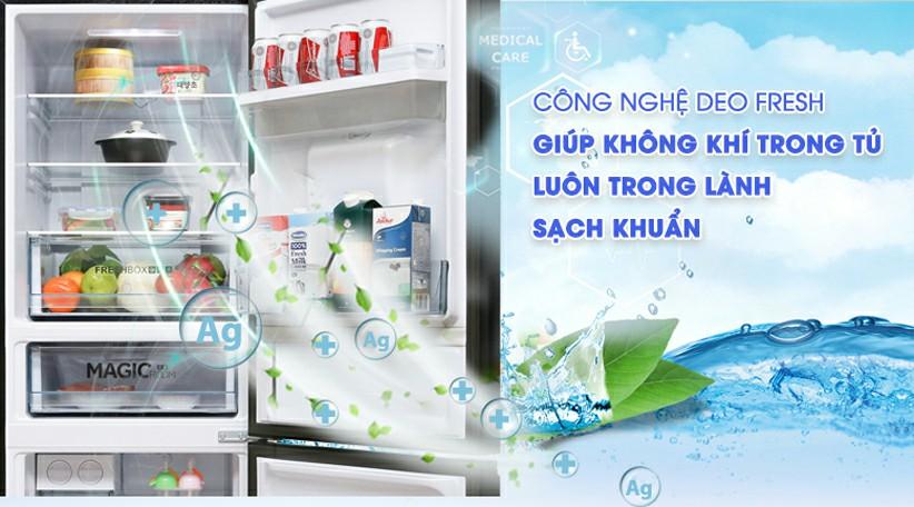 Tủ lạnh AQUA AQR-IW338EB SW Inverter 317 lít 6