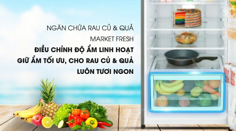Tủ lạnh Electrolux EME3700H-H Inverter 337 lít 7