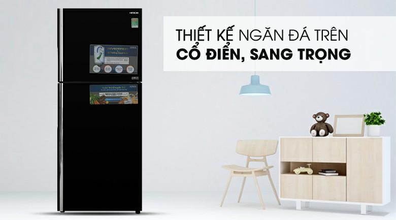 Tủ lạnh Hitachi R-FG450PGV8 GBK Inverter 339 lít 1