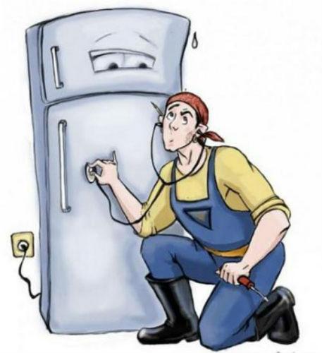 tủ lạnh đổ mồ hôi