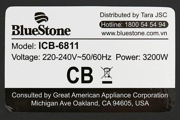 Bếp từ hồng ngoại đôi lắp âm Bluestone ICB-6811 3