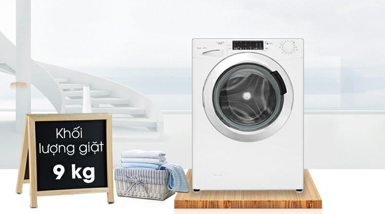Máy giặt Candy GVS 149THC3 Inverter 9kg 2