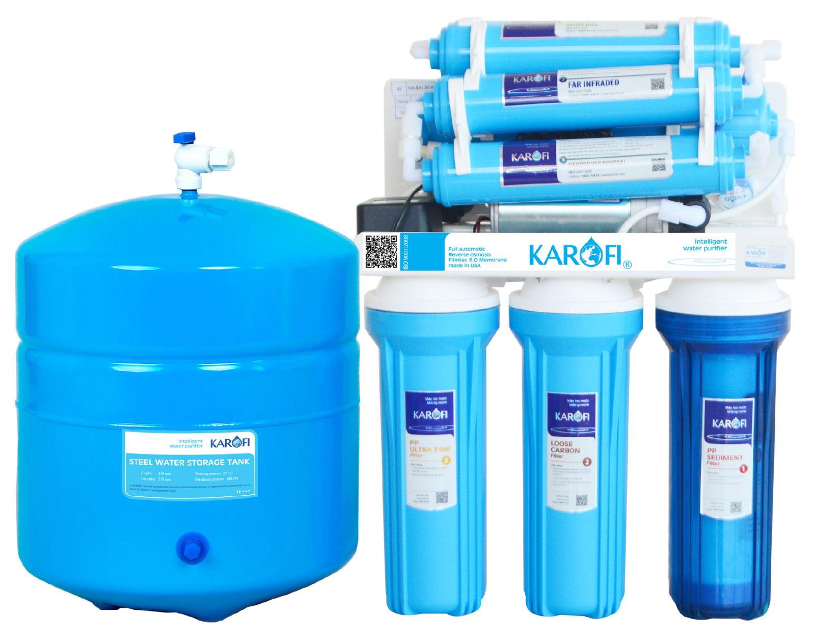 Máy lọc nước Karofi ER080 3