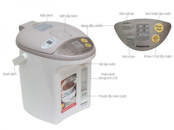 Phích điện Panasonic NC-EG3000CSY 3 lít 2