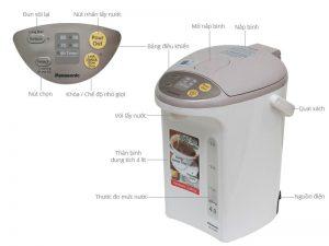 Phích điện Panasonic NC-EG4000CSY 4 lít 2