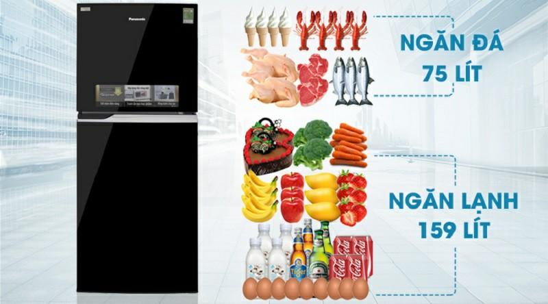 Tủ lạnh Panasonic NR-BL26AVPVN Inverter 234 lít 2