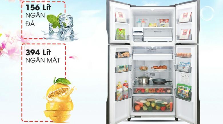 Tủ lạnh Panasonic NR-DZ600GKVN Inverter 550 lít 2