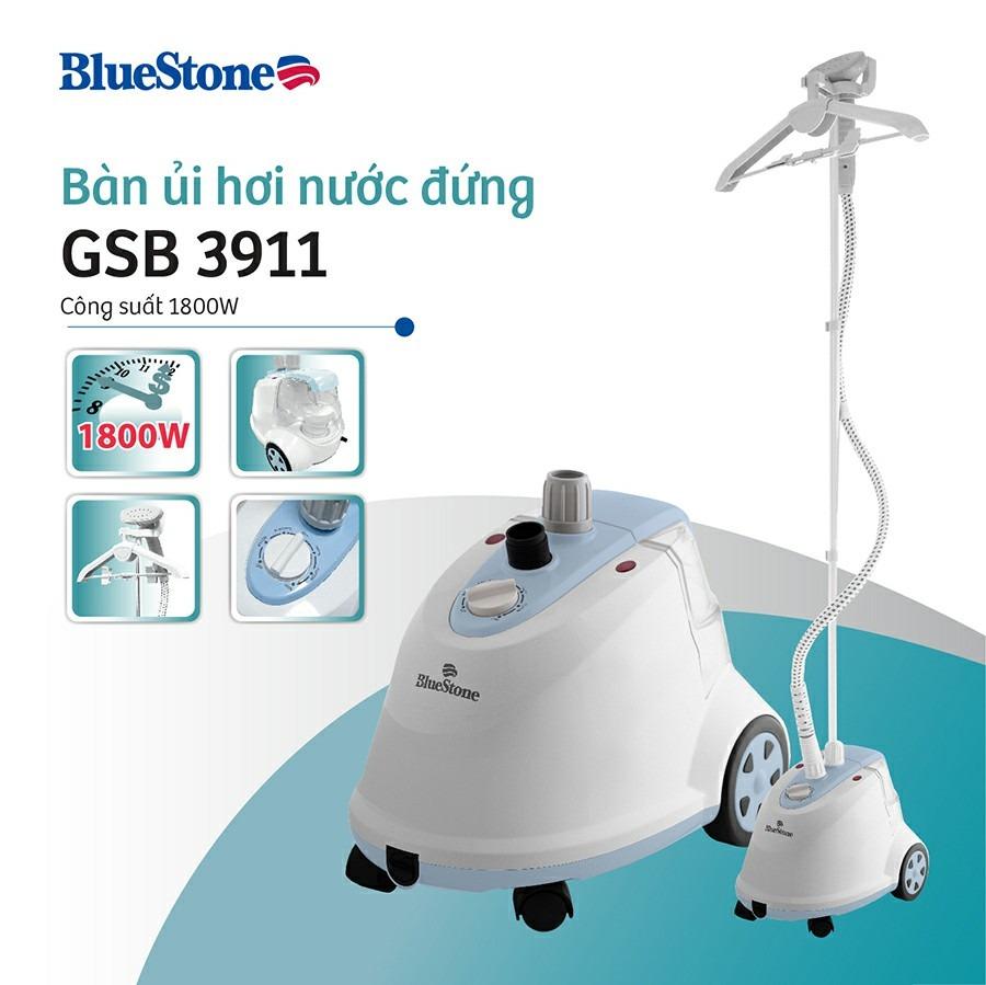 Bàn ủi hơi nước đứng Bluestone GSB-3911 giá treo đồ