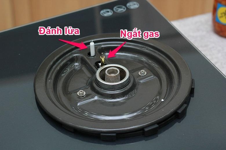 Bếp gas âm Rinnai RVB2G tự ngắn gas