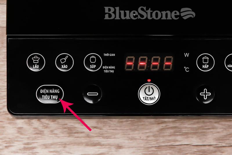 Bếp từ có chế độ theo dõi điện năng tiêu thụ trong quá trình nấu để người dùng kiểm soát tốt hơn tổng điện năng tiêu thụ trong gia đình