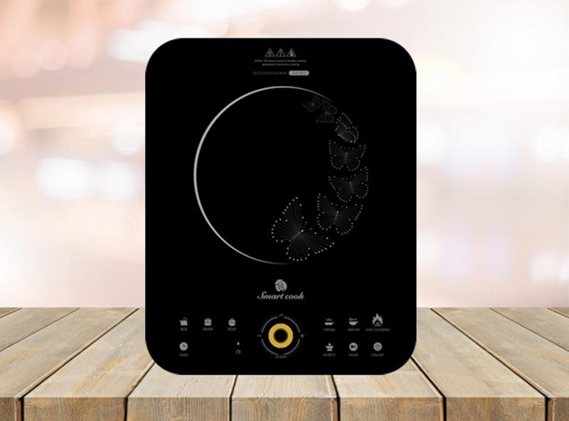 Bếp từ Elmich Smartcook ICS-3873 Thiết kế sang trọng, kiểu dáng gọn nhẹ